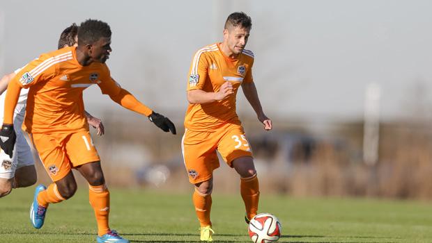 Sito Seoane no jugara en Houston Dynamo